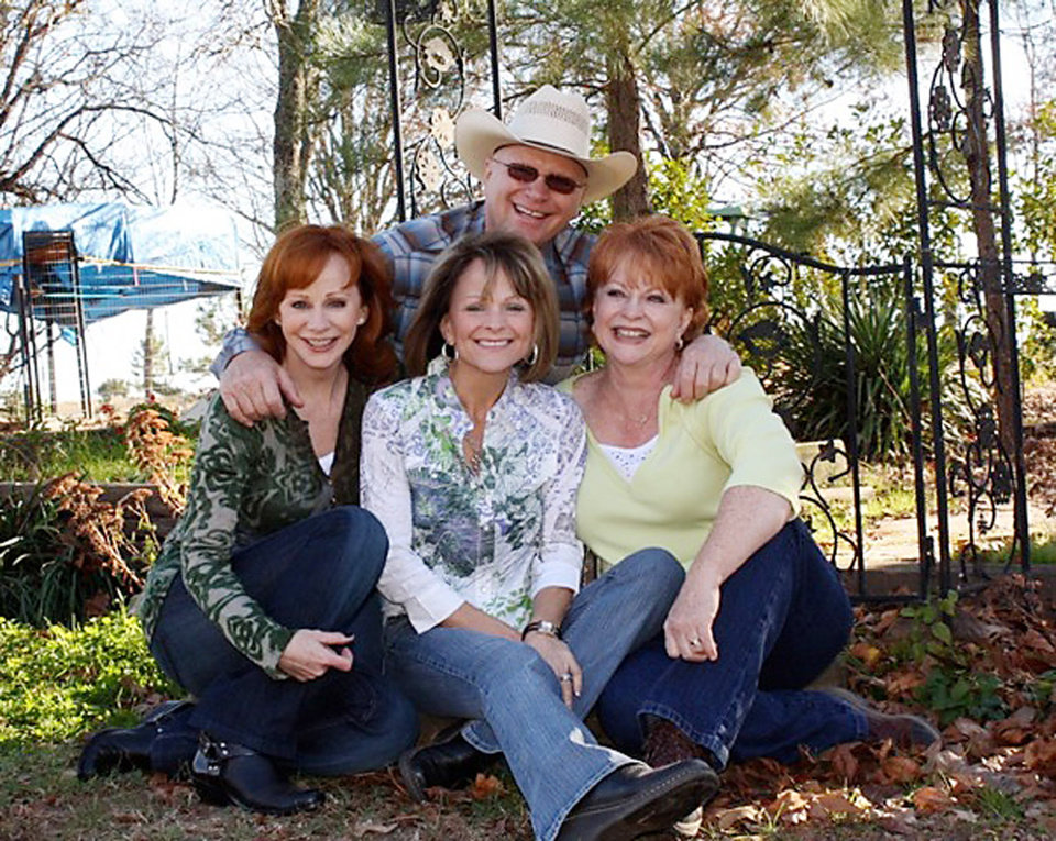 Photo -  Clark and Jackie McEntire's four children are son Pake McEntire and daughters Reba McEntire, Susie McEntire Eaton and Alice Foran. PHOTO PROVIDED   Photo Provided -