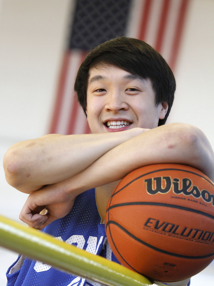 Classen School of Advanced Studies\' Oliver Ting during practice in Oklahoma City, Wednesday, February 15, 2012. Photo By Steve Gooch, The Oklahoman Steve Gooch - The Oklahoman