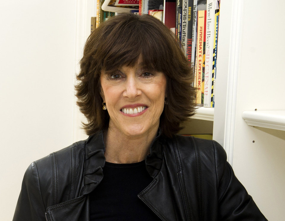 Photo -   FILE - This Nov. 3, 2010 file photo shows author, screenwriter and director Nora Ephron at her home in New York. Publisher Alfred A. Knopf confirmed Tuesday, June 26, 2012, that author and filmmaker Nora Ephron died Tuesday of leukemia in New York. She was 71. (AP Photo/Charles Sykes, file)
