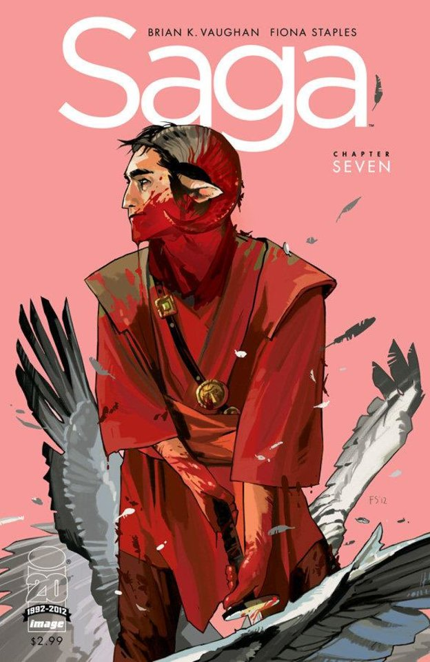 """Saga"" issue 7. Image Comics."