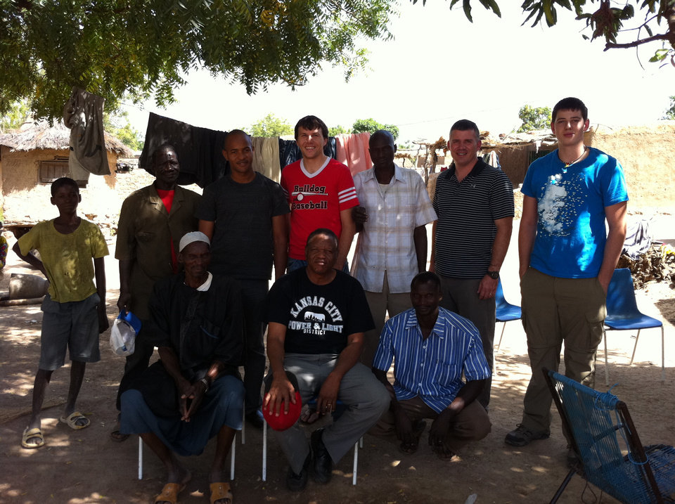David Cornwell visits Mali. PHOTO PROVIDED