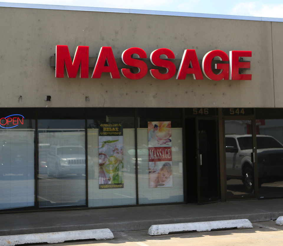 Photo - China Rose Massage parlor located at 546 E. Memorial Road in Oklahoma City, Thursday, June 29, 2017. Photo by Jacob Derichsweiler, The Oklahoman