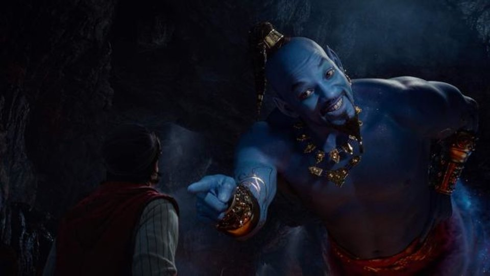 Photo -  Will Smith plays The Genie in Guy Ritchie's remake of