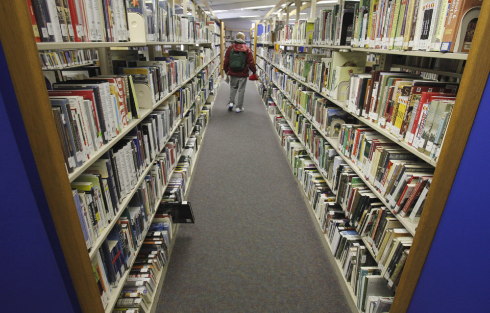 Norman Public Library on Tuesday, Jan. 17, 2012, in Norman, Okla.  Photo by Steve Sisney, The Oklahoman