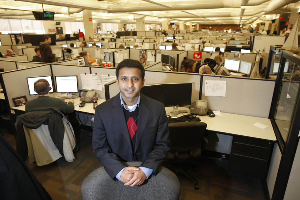 Rohit Keshava, site manager for Dell in Oklahoma City. Photo By Steve Gooch, The Oklahoman <strong>Steve Gooch - The Oklahoman</strong>