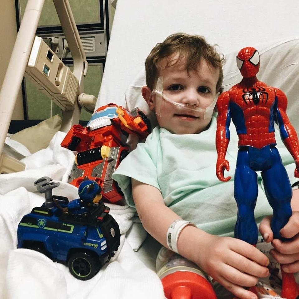 Photo -  Eli has bounced back after a cystic fibrosis-related hospitalization. [photo provided]