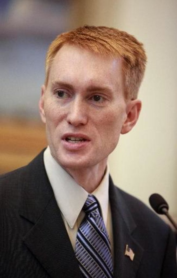 Rep. James Lankford, R-Oklahoma City <strong></strong>
