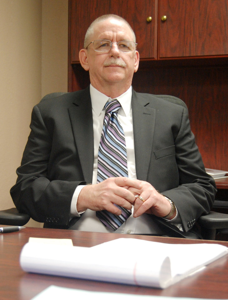 Photo -  Robert Patton, Oklahoma Corrections Department director, will leave to take a job in Arizona.