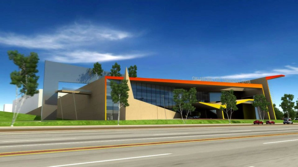 Photo - **DO NOT USE THIS IMAGE** Artist rendering of Proposed MAPS 3 Oklahoma City Convention Center. Provided. ORG XMIT: KOD
