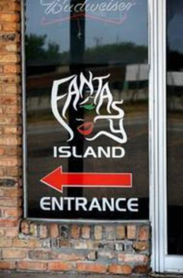 Photo -  Fantasy Island in Del City ceased operation in 2015. A sister strip club, Midway Island, is in Oklahoma City but is temporarily closed. [THE OKLAHOMAN ARCHIVES]
