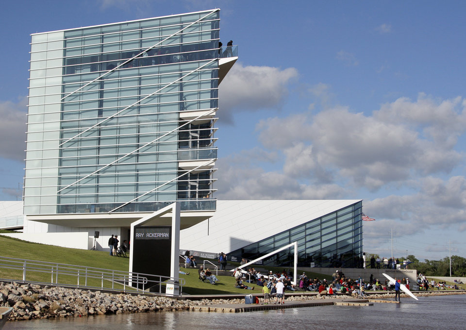 Photo - The Chesapeake Finish Line Tower and the Devon Boathouse will be featured in audition scenes from Season 12 of