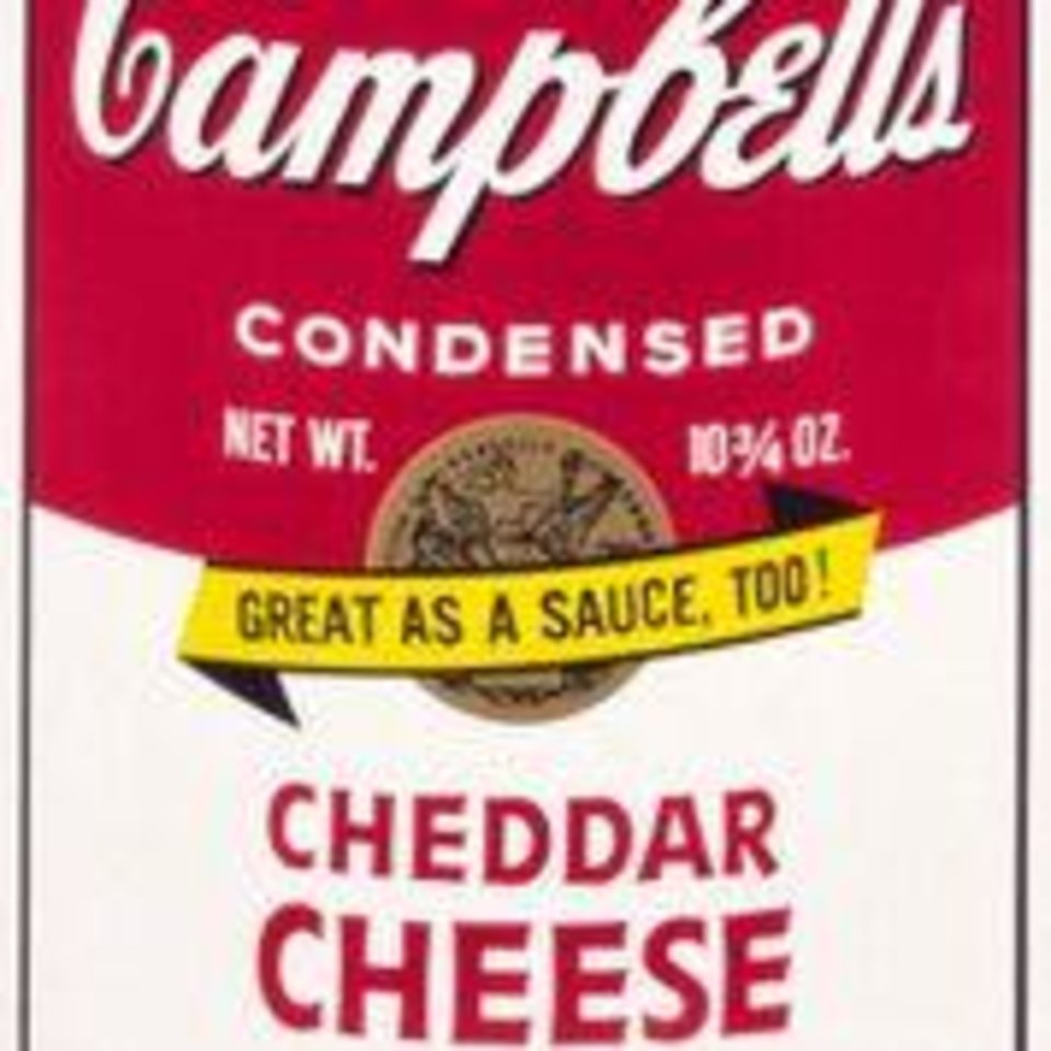 Photo - Andy Warhol (American, 1928–1987). Cheddar Cheese, 1969. Screenprint. Oklahoma City Museum of Art. Gift of Dr. and Mrs. Robert Arnold, 1978.041. Photo provided by OKCMOA.