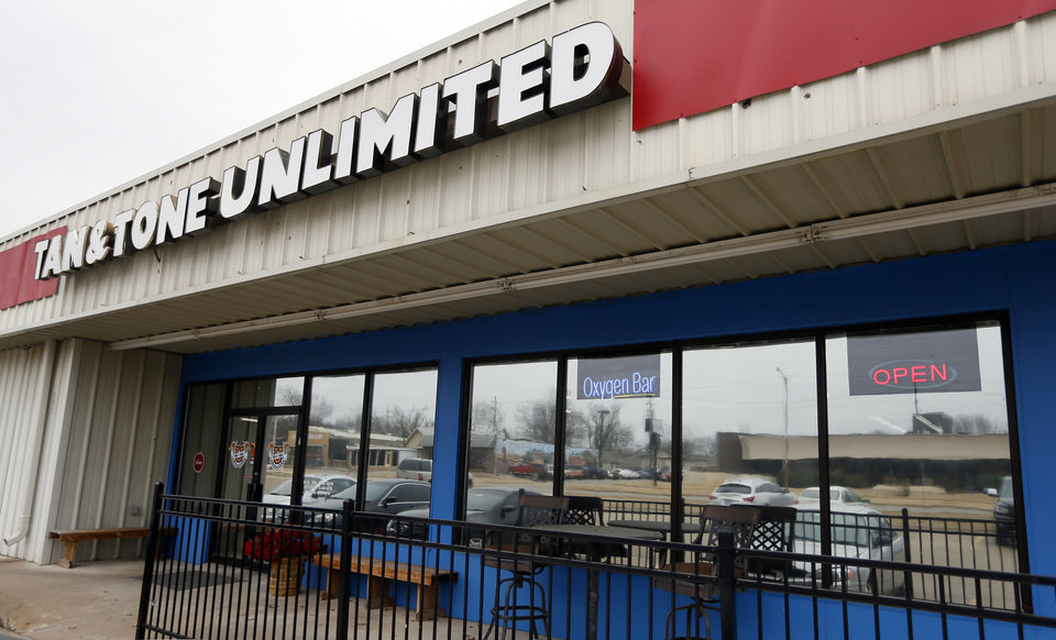 Photo - Tan & Tone Unlimited in Stillwater, a former Tan & Tone America.  NATE BILLINGS - THE OKLAHOMAN