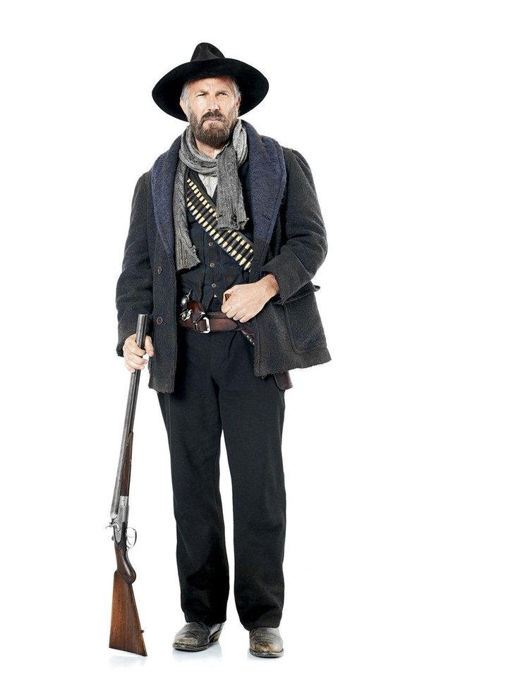 Photo - Kevin Costner stars as Devil Anse Hatfield in the miniseries