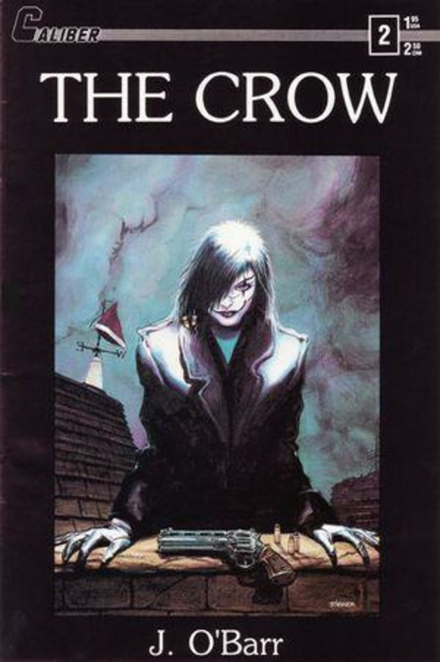 "The original cover to ""The Crow"" issue No. 2. Photo provided"