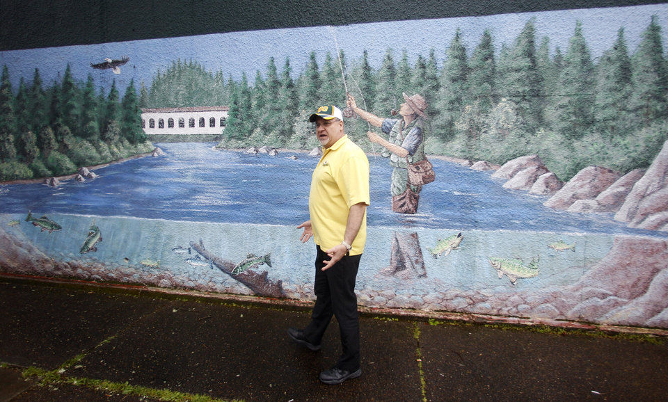 Photo -   Jack Kohler walks near Main Street Tuesday, April 10, 2012, in downtown Springfield, Ore. One of the best-kept secrets in television history has been revealed, with