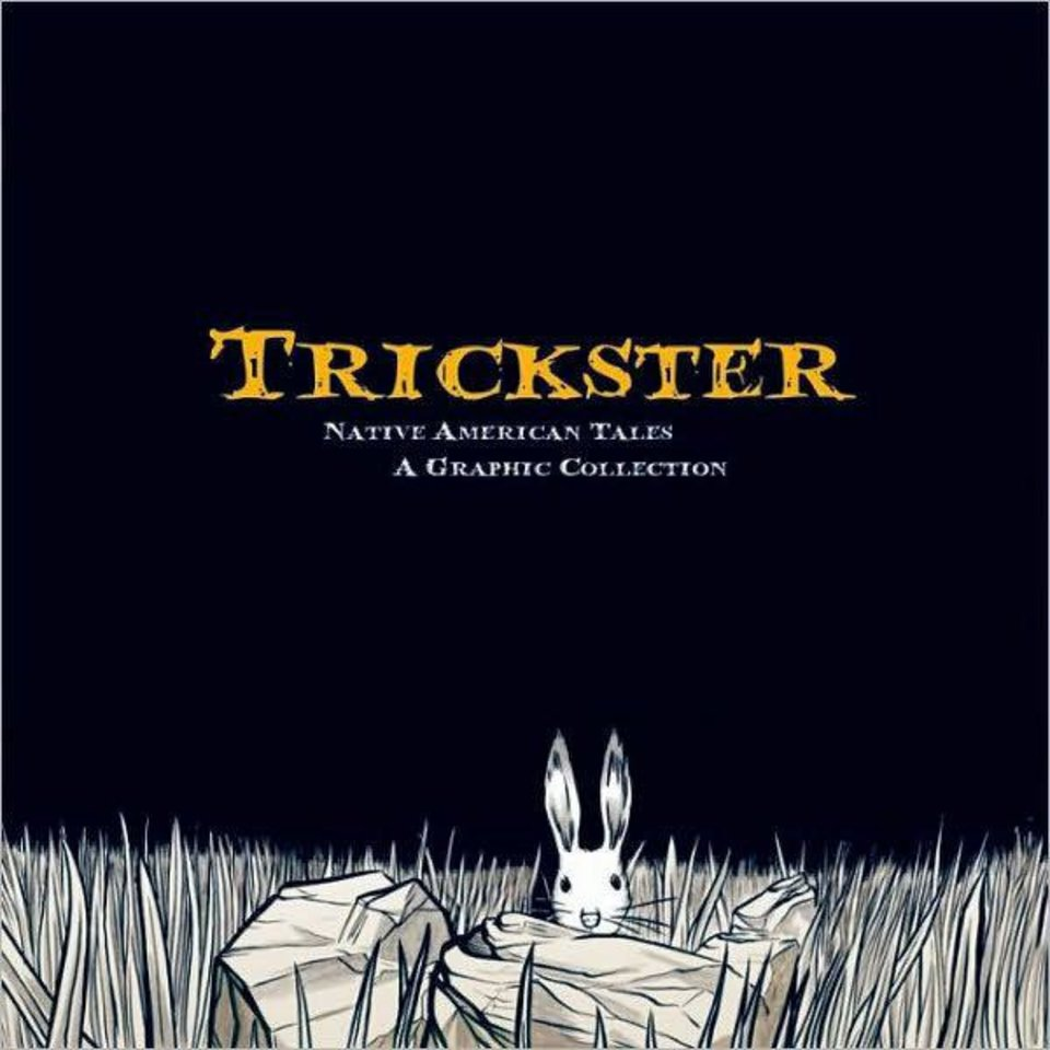 "The cover to ""Trickster."" Fulcrum Books image <strong></strong>"