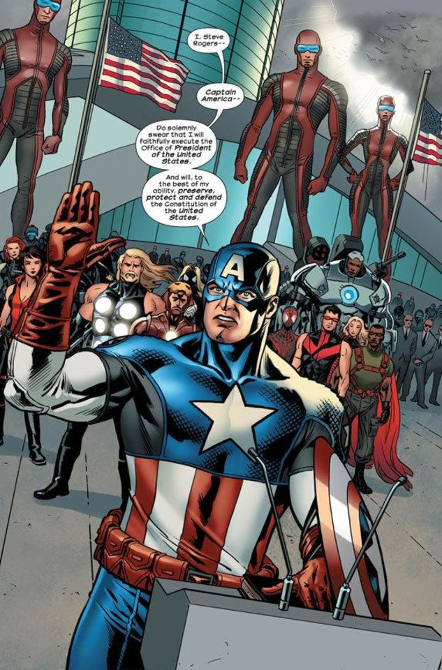 "Photo - A page from ""Ultimate Comics Ultimates"" No. 16. Provided by Marvel Comics"