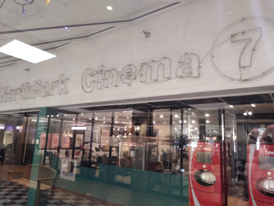Photo - Northpark Cinema closed this weekend after entertaining generations of movie goers since 1973. Photo courtesy of  Hans Wuerflein.