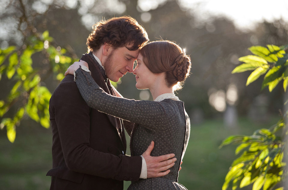 "Photo - Michael Fassbender and Mia Wasikowska star in ""Jane Eyre."" Focus Features Photo"