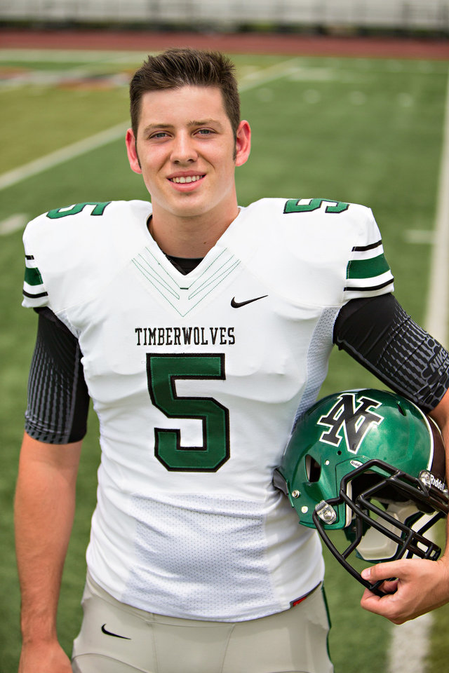HIGH SCHOOL FOOTBALL: David Cornwell, one of the most sought-after quarterback recruits in the country, might not get to play his senior year because of an eligibility issue. Cornwell, who played last season at Jones, hopes to play for Norman North in the fall. Photo provided by Prints Charming Photography KOD