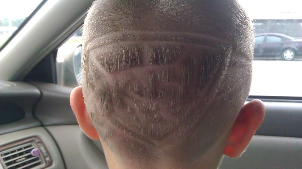 Maddox haircut Thunder