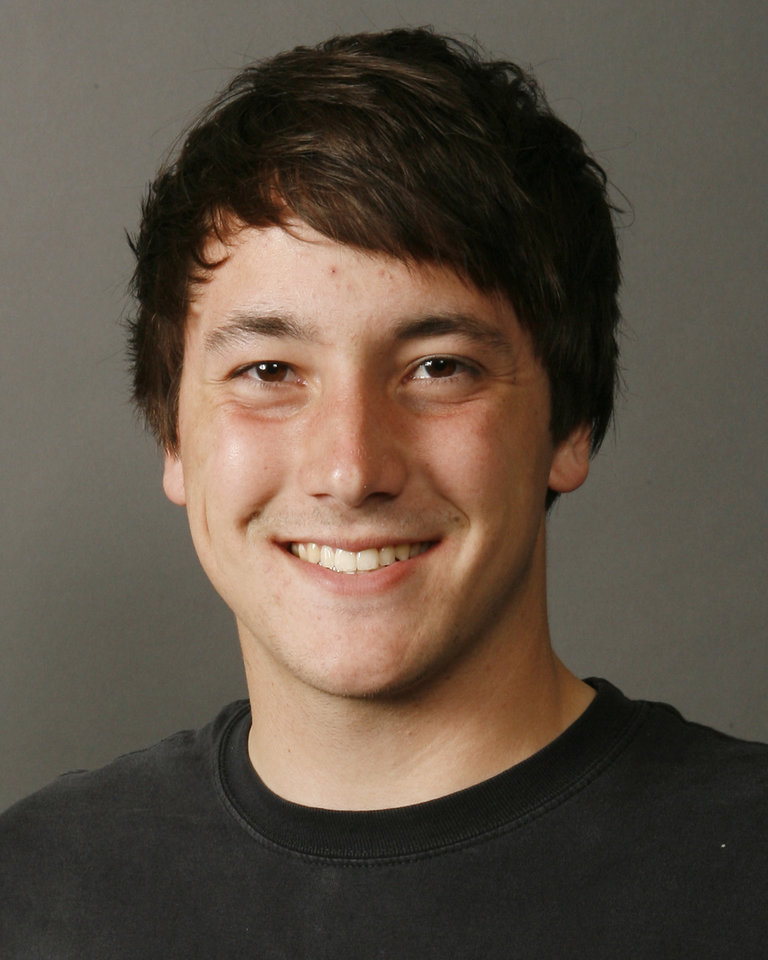 Caleb Villaflor, Heritage Hall, tennis, poses for a mug during the spring high school sports photo day in Oklahoma City, Wednesday, February 13, 2008. BY NATE BILLINGS, THE OKLAHOMAN