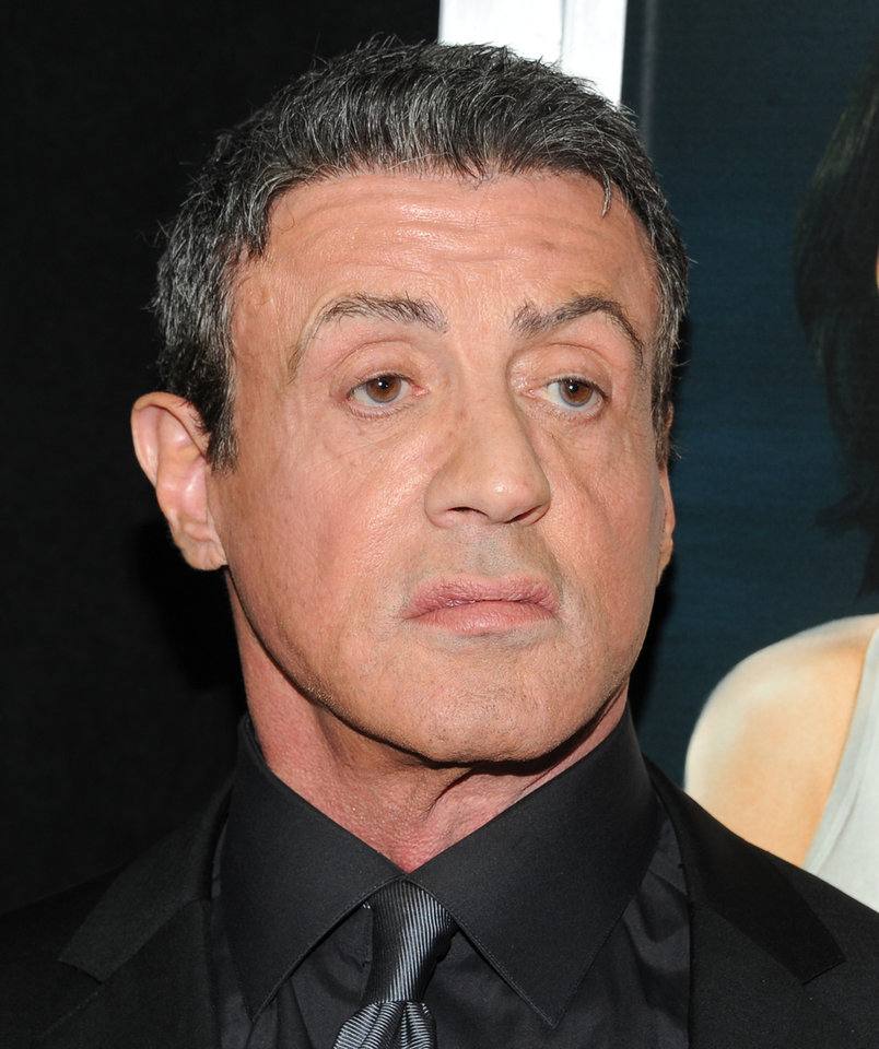 Photo - Actor Sylvester Stallone attends the