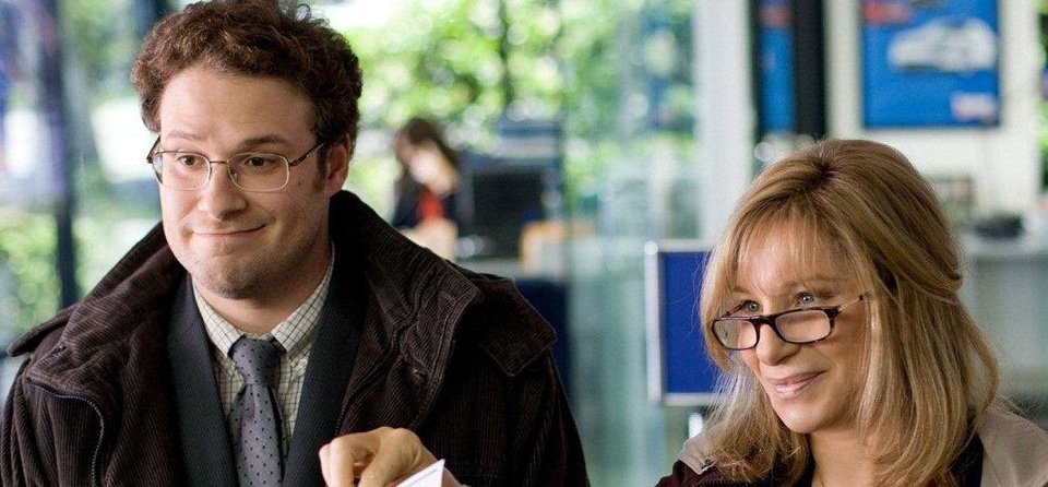 Seth Rogen and Barbra Streisand star in