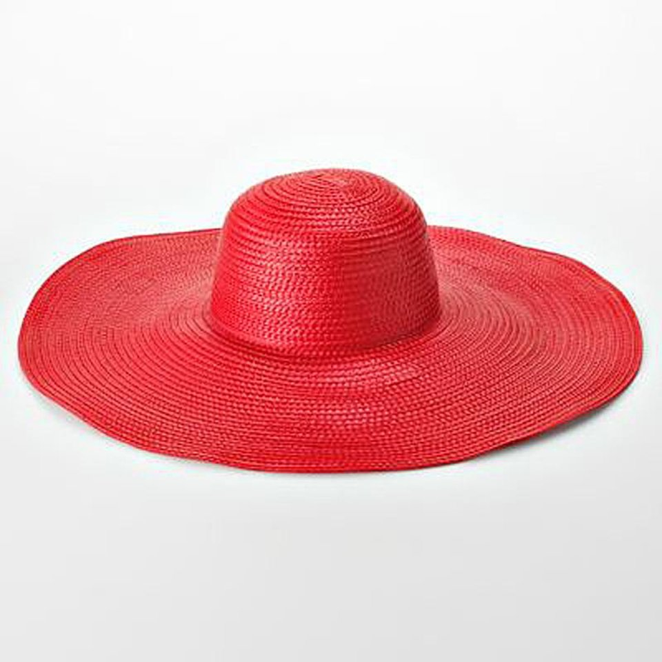 Photo - A few chic ways to accessorize this Fourth of July include this Candie's super floppy straw hat, $21.60. (Courtesy Kohls via Los Angeles/MCT)