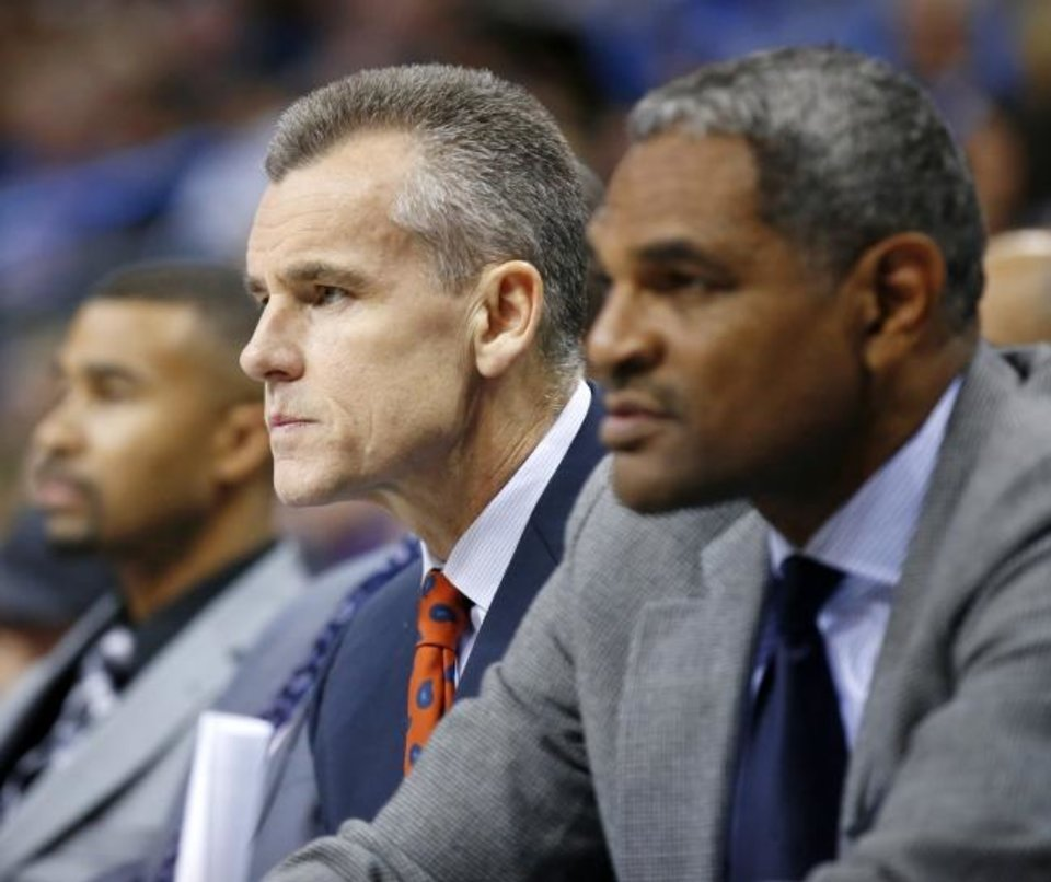 Photo -  Maurice Cheeks joined Billy Donovan's Bulls staff this offseason. Cheeks previously served two stints as a Thunder assistant coach. [Nate Billings/The Oklahoman]
