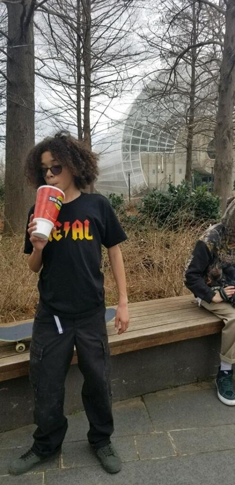 Photo - Oklahoma City police are searching for skateboarders accused of causing nearly $2,000 in damage to a fountain at the Myriad Botanical Gardens in late January. [Photo provided]
