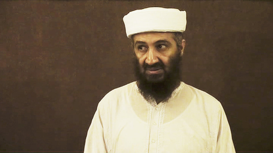 """MANHUNT"": Osama bin Laden - Photo courtesy of HBO"