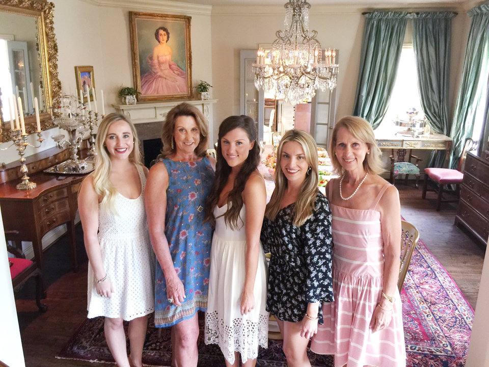 Photo - Lara Switzer, Sandy Ellis, Christina Ellis, Brittany Sanger, Sarah Sanger. PHOTO PROVIDED