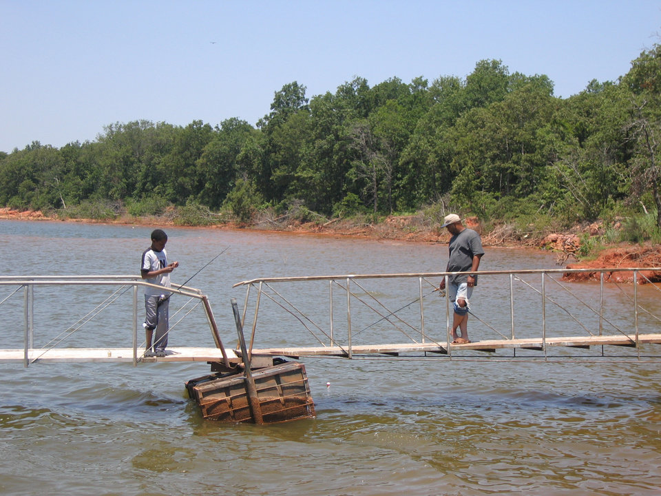 Fishing for sunfish in oklahoma city news ok for Fishing in oklahoma