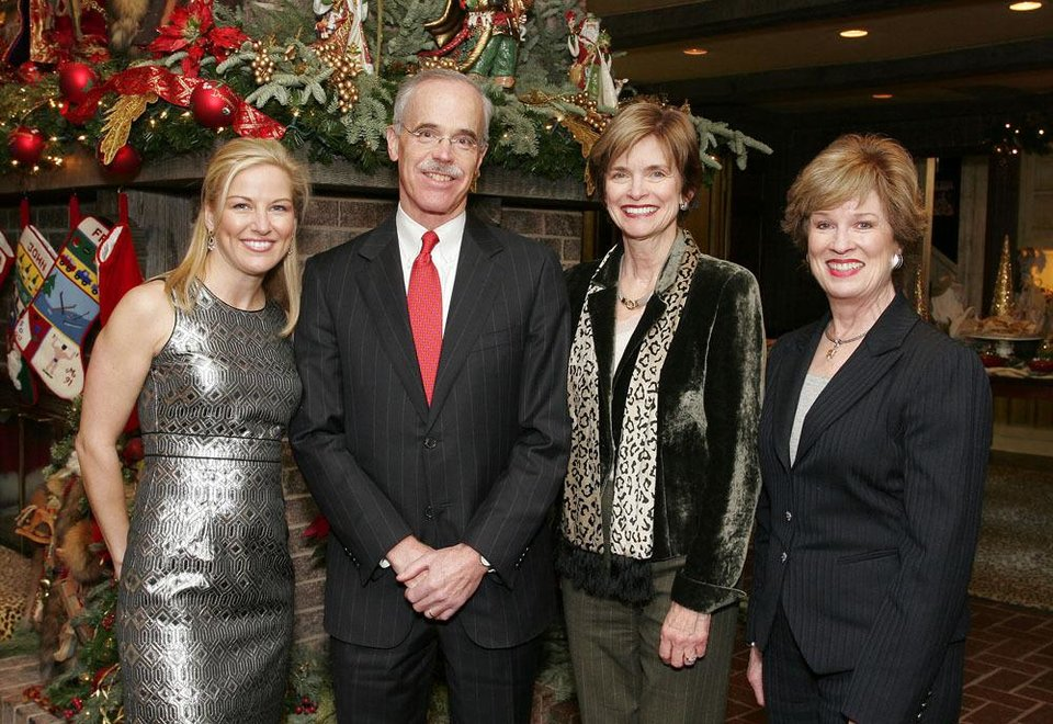 Maryann Johndrow, Chuck Wiggin, Polly Nichols and Carol Troy.   PHOTO BY DAVID FAYTINGER, FOR THE OKLAHOMAN