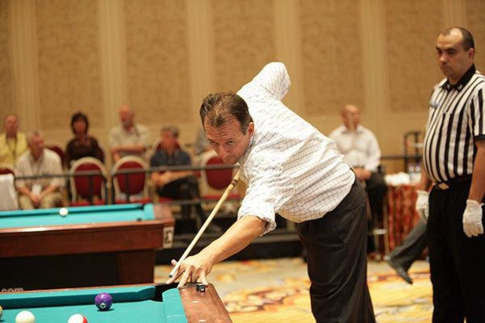 James Walden - International Pool Tournament, Las Vegas.<br/><b>Community Photo By:</b> internationalpooltour.com<br/><b>Submitted By:</b> Christine, Shawnee