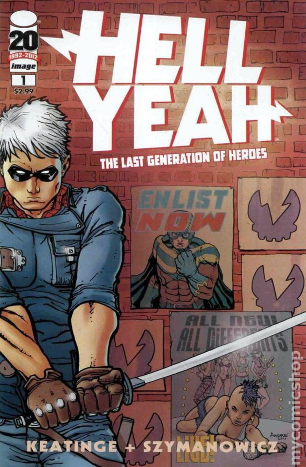 "Photo - ""Hell, Yeah"" issue No. 1. Image Comics."