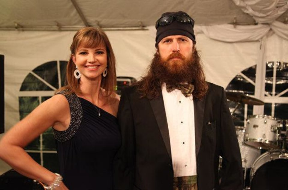 Photo - Missy Robertson and Jase Robertson of A&E's popular reality TV show