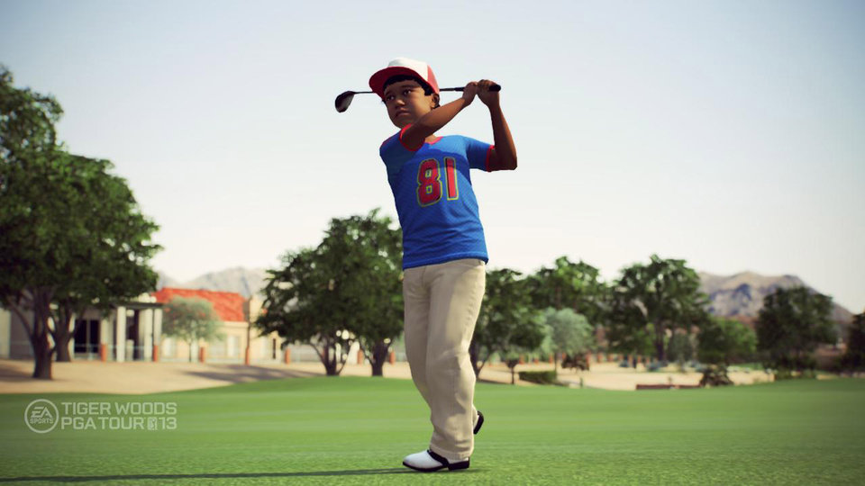 """In this video game image released by EA Sports, a scene is shown from """"Tiger Woods PGA Tour 13."""" (AP Photo/EA Sports)"""