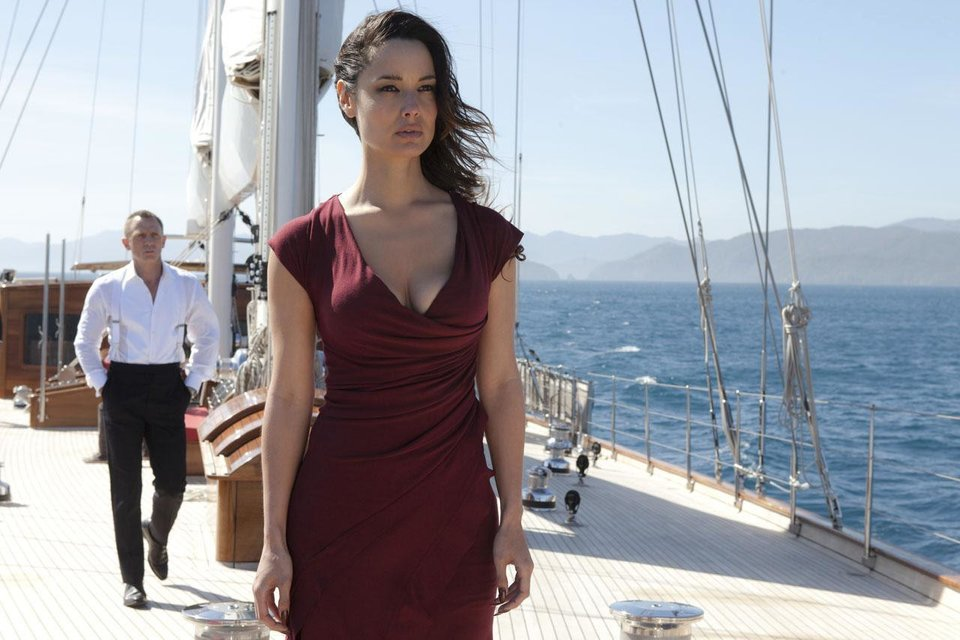 "Photo - Berenice Marlohe in ""Skyfall."" Sony/Columbia"