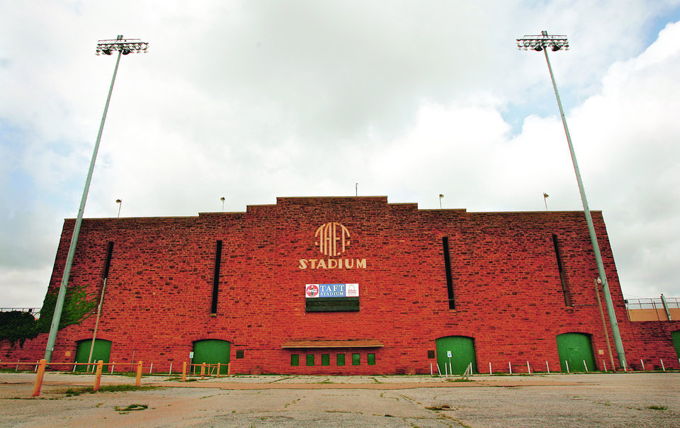Thanks to a passed bond issue last year, Taft Stadium will be renovated within the next five years. (Photo by Chris Landsberger, The Oklahoman Archive)