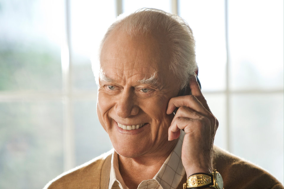 Larry Hagman, actor       ORG XMIT: 1206121610317286