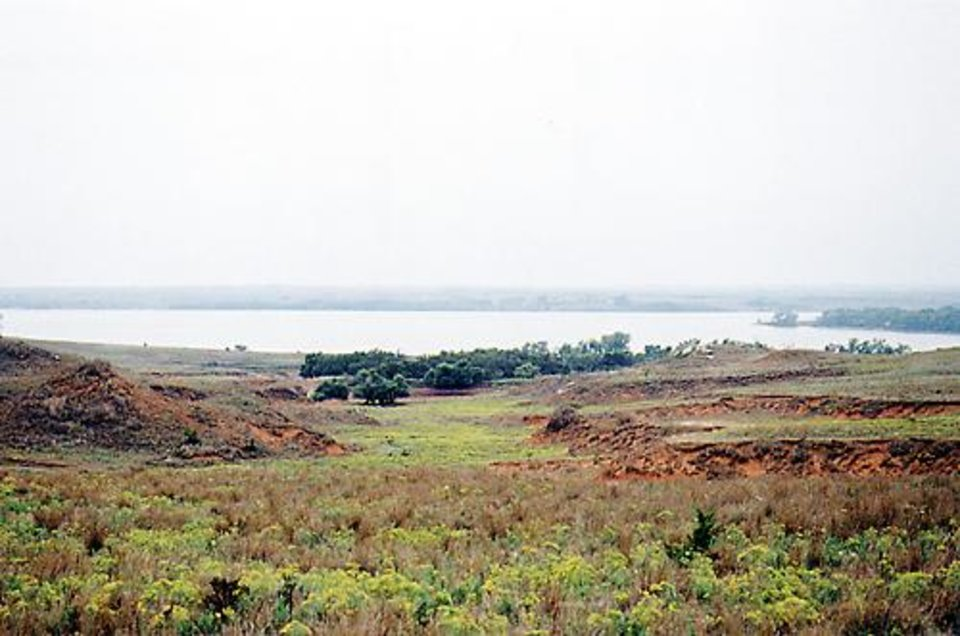The Washita National Wildlife Refuge encompasses the upper third of Foss Lake.