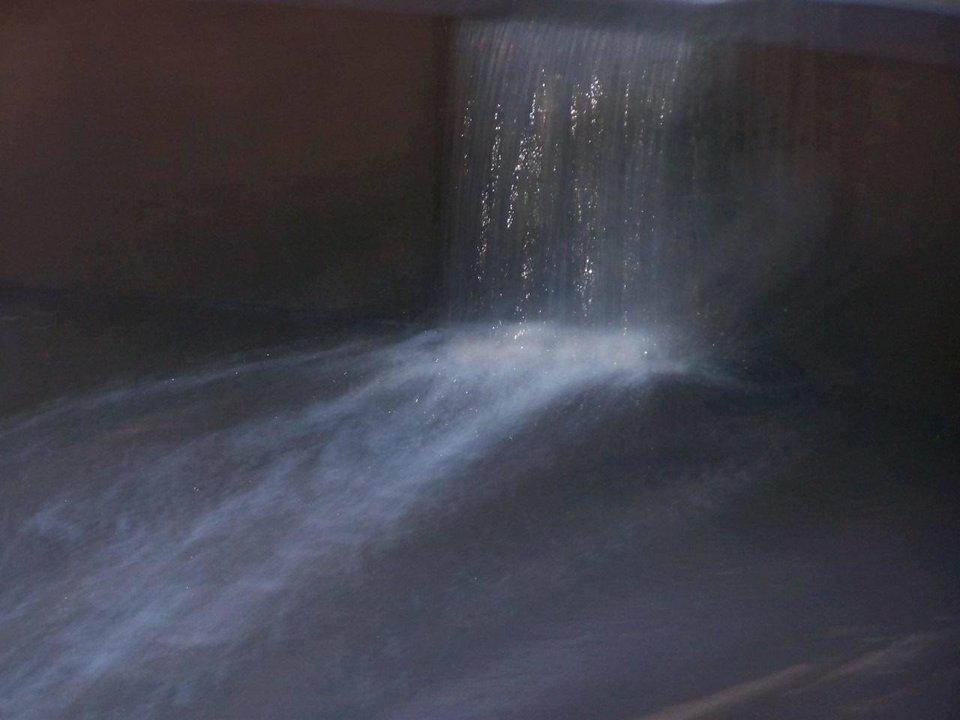 The small water canal/Fall in legion Park in El Reno came out almost ethereal<br/><b>Community Photo By:</b> Billie(littleman)Leicthweis<br/><b>Submitted By:</b> Billie, el reno