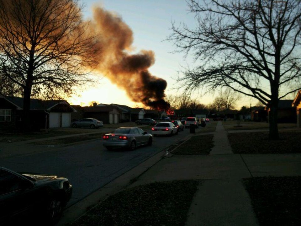 House explodes in southwest Oklahoma City 1/3/2013