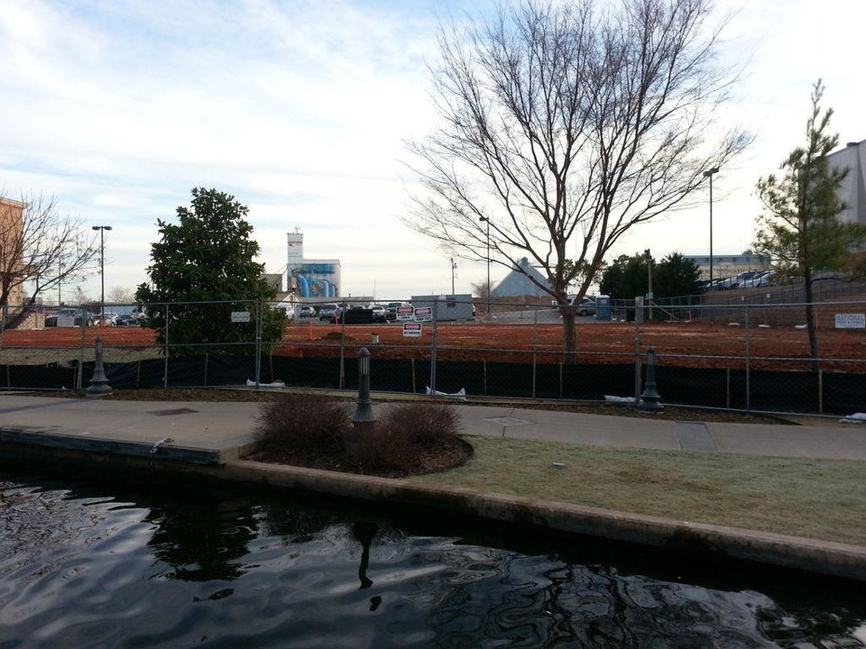 Site work has started for the future KD's restaurant along the Bricktown Canal in Lower Bricktown.