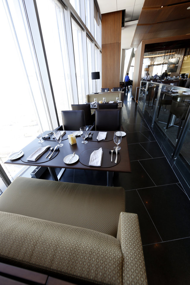 The VAST restaurant in the Devon Tower in Oklahoma City, Wednesday October 17, 2012. Photo By Steve Gooch, The Oklahoman