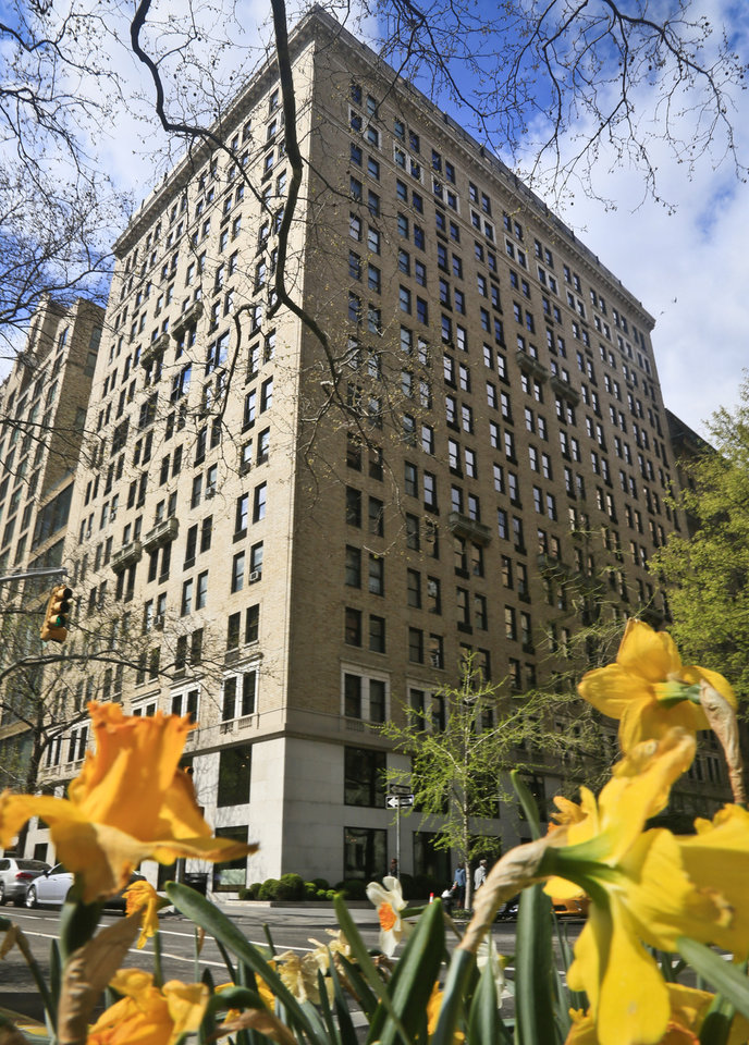 Photo - This photo of the Gramercy Park Hotel on Wednesday April 23, 2014 in New York, is the site of the Rose Bar visited by Mark Shand, 62, the brother of Prince Charles' wife Camilla, before he fell outside its door suffering a head injury and later died.  (AP Photo/Bebeto Matthews)