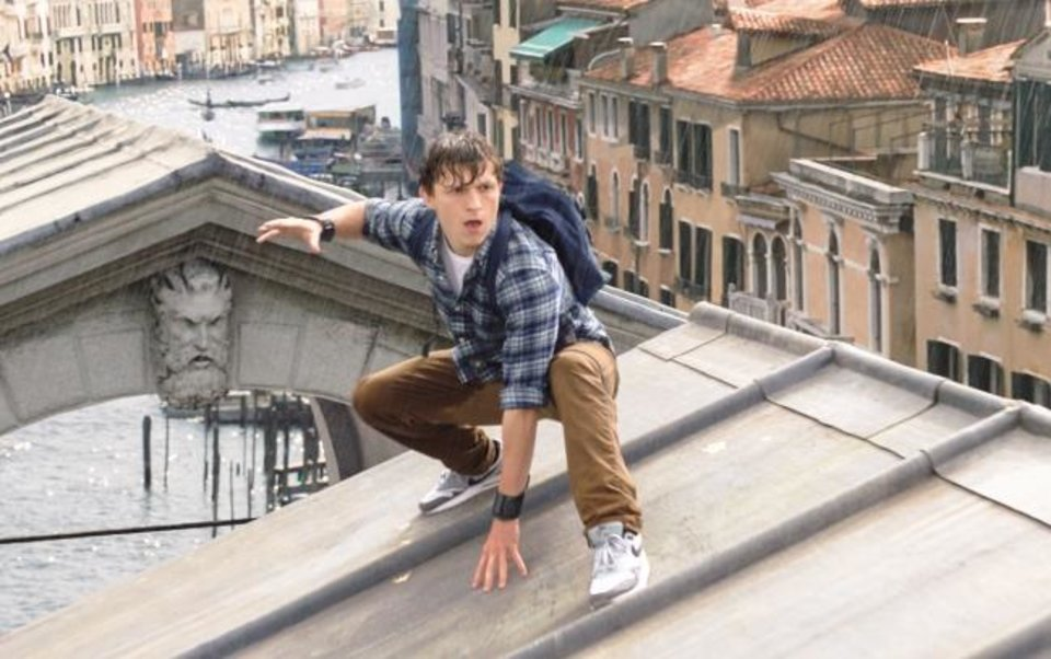 Photo -  Tom Holland plays Peter Parker, aka Spider-Man, in